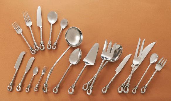 The chile shop santa fe taos twist flatware - Twisted silverware ...